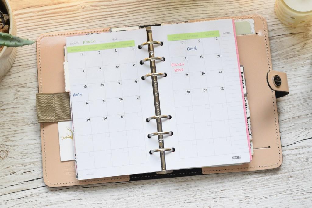 birthday planning