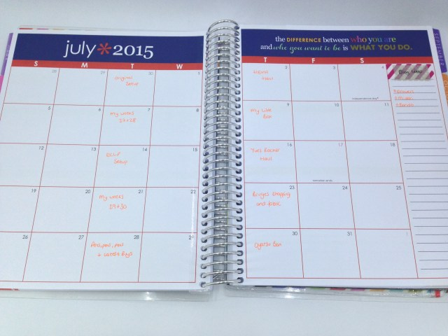 month blog