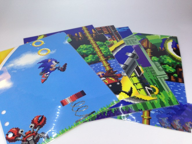 Sonic the hedgehog dividers
