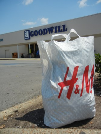 Goodwill donation