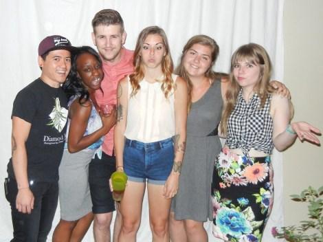 Goofy group photo