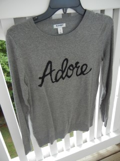 Adore sweater | Christina's Best Life