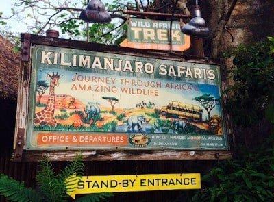 Wild Africa Trek Animal Kingdom Walt Disney World