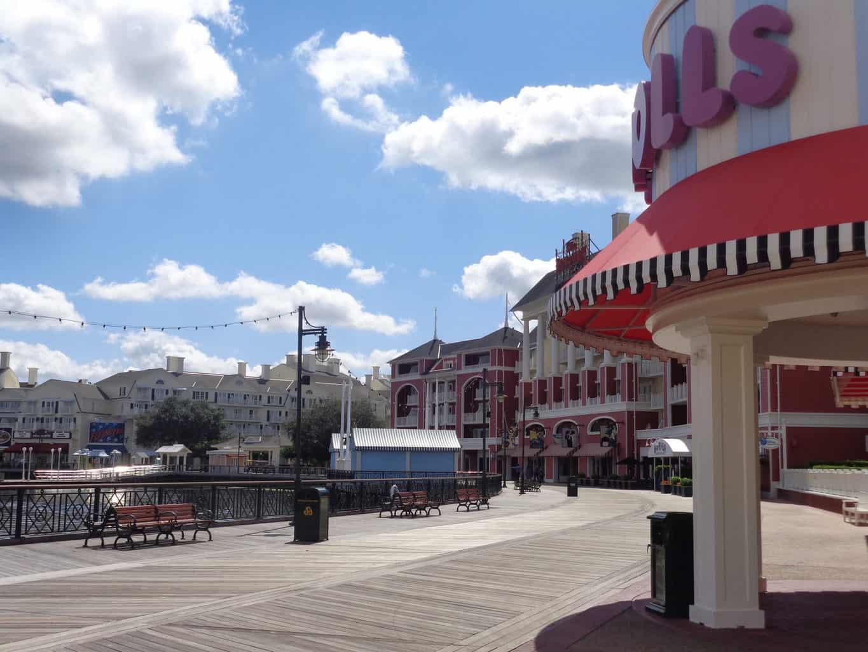 Disney BoardWalk at Epcot Walt Disney World Things to Do