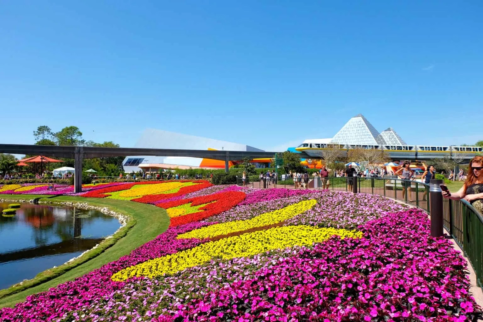 Epcot's International Flower and Garden Festival with kids