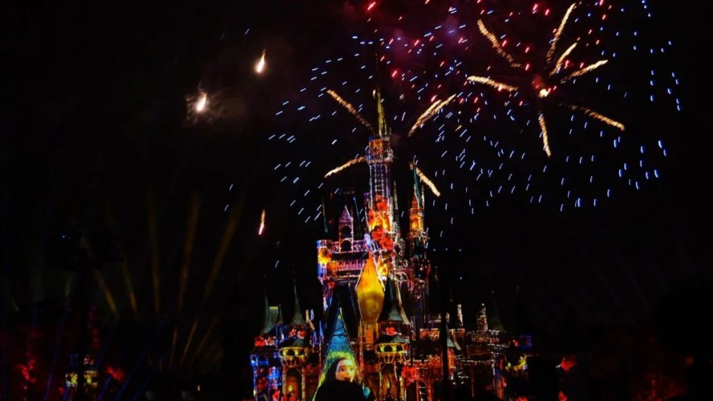 Happily Ever After Fireworks Show Magic Kingdom