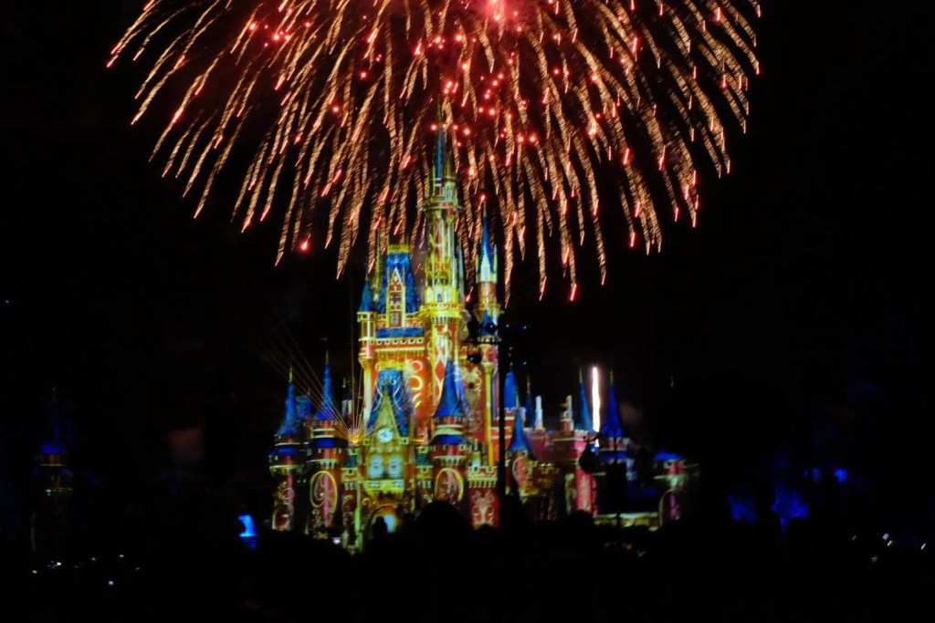 fireworks happily ever after