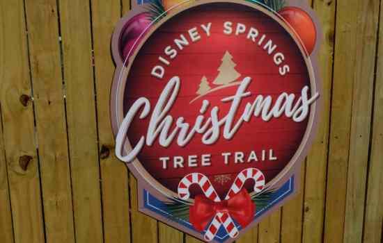 Disney Springs Christmas Tree Trail Photo Tour