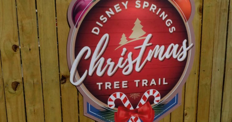 Disney Springs Christmas Tree Trail Photo Tour