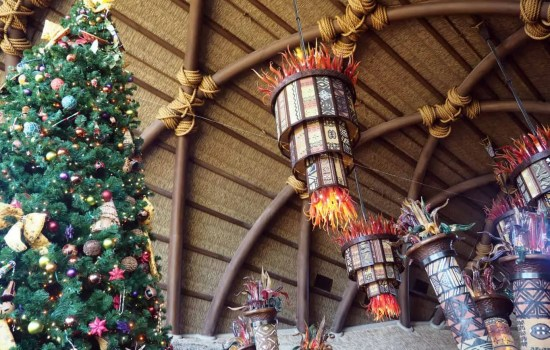 Disney Resort Holiday Decorations at Walt Disney World