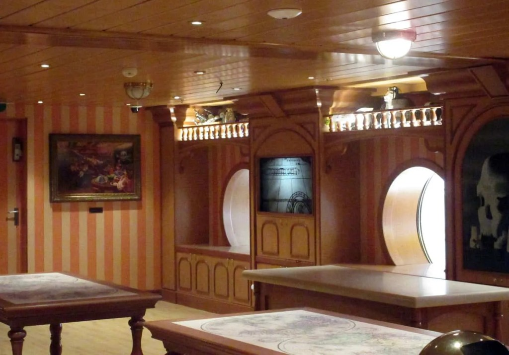 childrens spaces on the disney wonder