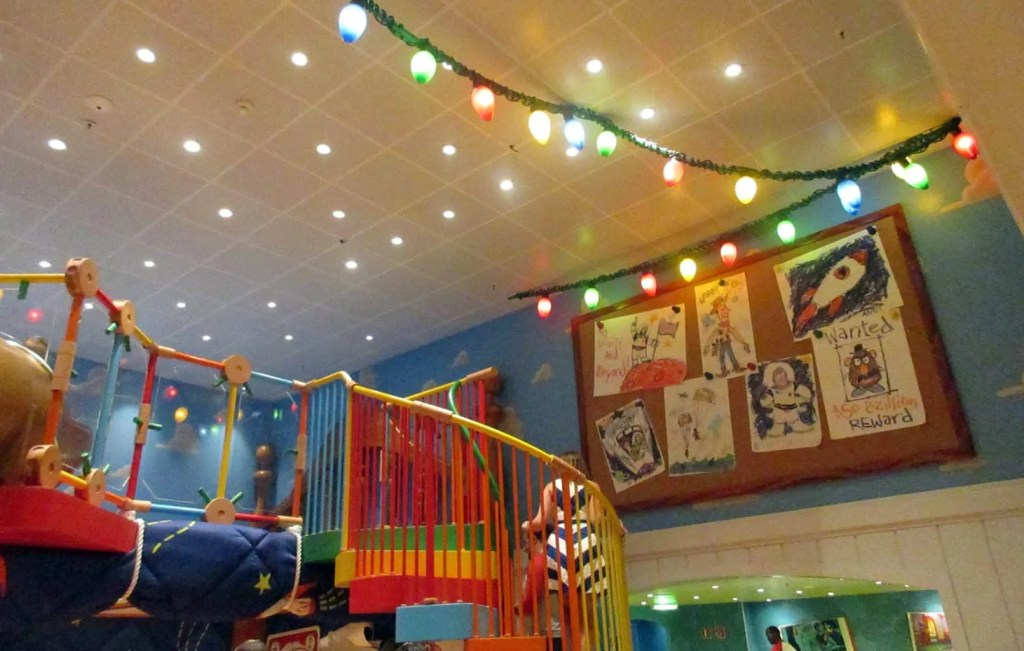 childrens area on disney wonder cruise ship