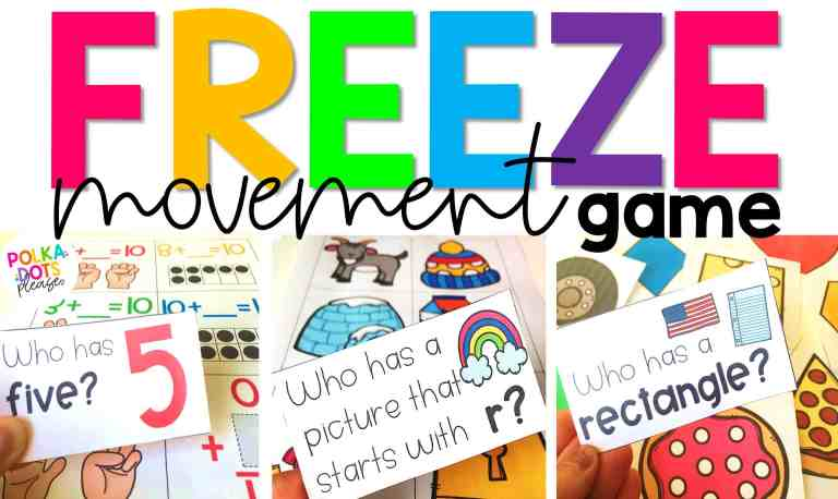 freeze movement game