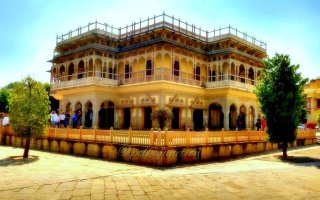 City Palace Jaipur Architecture
