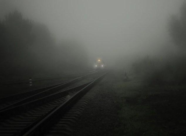Train, Smog , Pollution