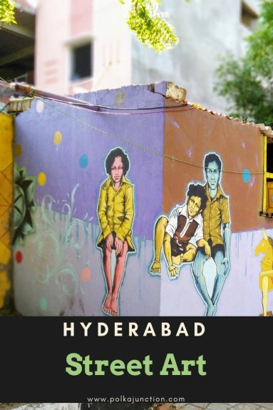 Street Art in India is an eclectic mix of both modern and ancient themes.  India | Telangana | Hyderabad | Asia | Travel | Street Art | Artwork | Painting | Modern | Ancient | Photography | Blogging  #india #travel #asiatravel #streetart #art #photography #travelphotography