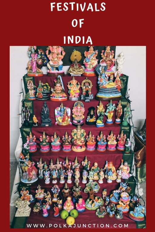 Read about India's doll festival - Bommai Golu which is a home-spun 9 days festival across South Indian states. Travel | Festivals | India | Asia Travel | Decor | Ancient | TamilNadu  #incredibleindia #navratri #festival #indian #indianart #ancient #ancientindia #history #culture #asian #travel #traditional #dolls