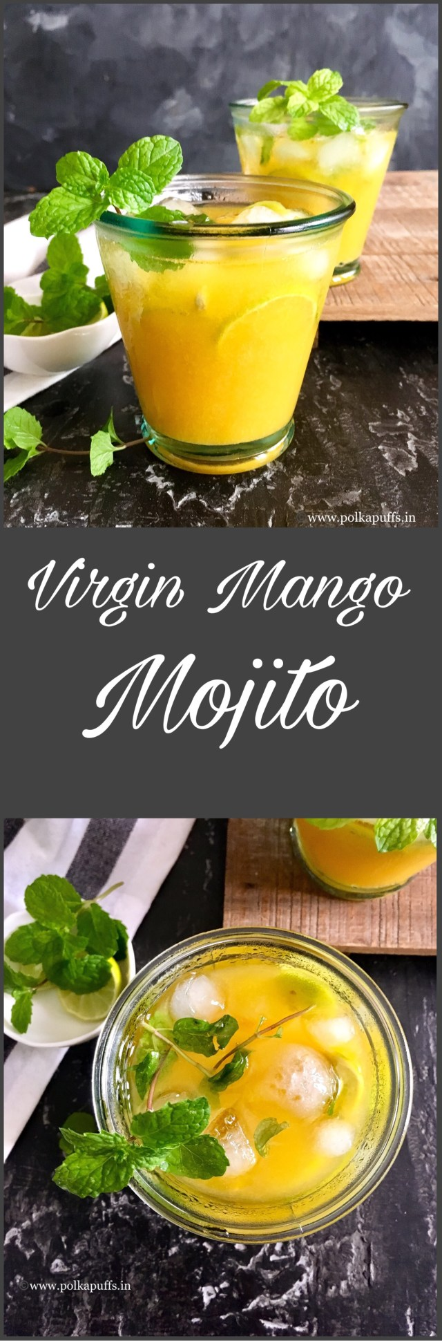 Virgin Mango Mojito | Mango Mojito Recipe
