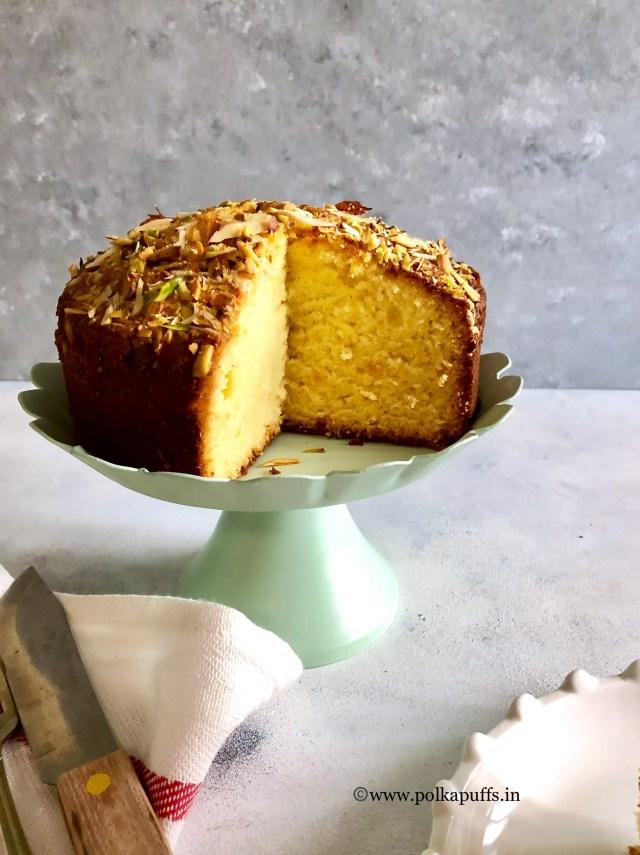 Parsi Mawa Cake | Bakery Style Mawa Cake