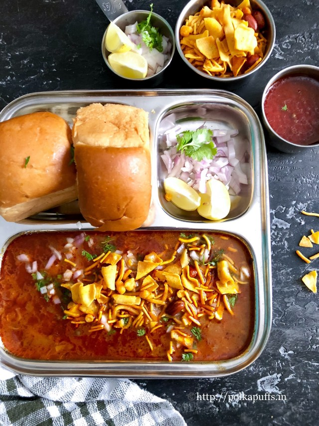 Kolhapuri Misal Pav | How to make Misal Pav