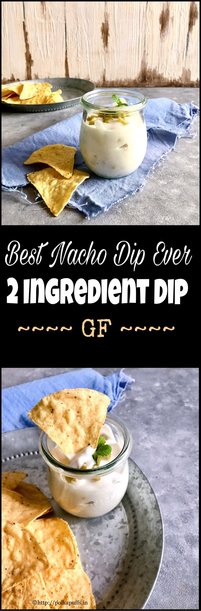 Best Nacho Dip Ever | 2 Ingredient Dip