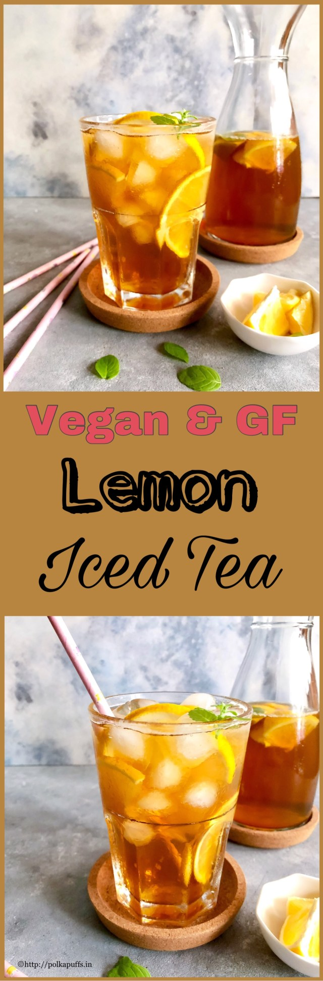 Lemon Iced Tea | How to make Lemon Iced Tea