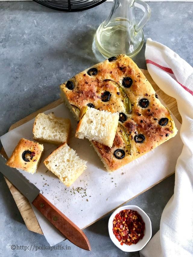 Vegan Focaccia Recipe | No Knead Focaccia Bread Recipe