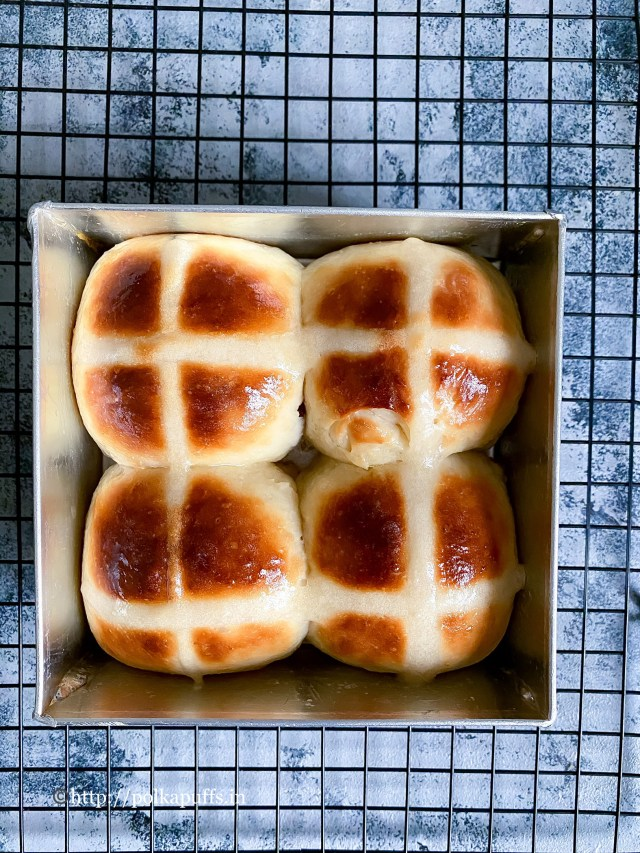 Vegan Hot Cross Buns   Vegan Easter Hot Cross Buns