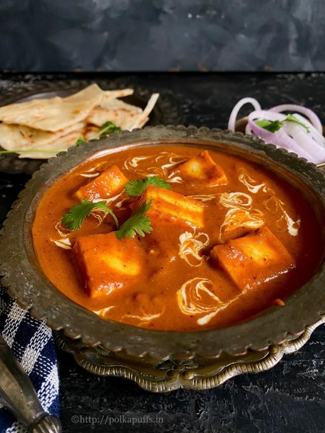 Restaurant Style Shahi Paneer | Shahi Paneer Recipe