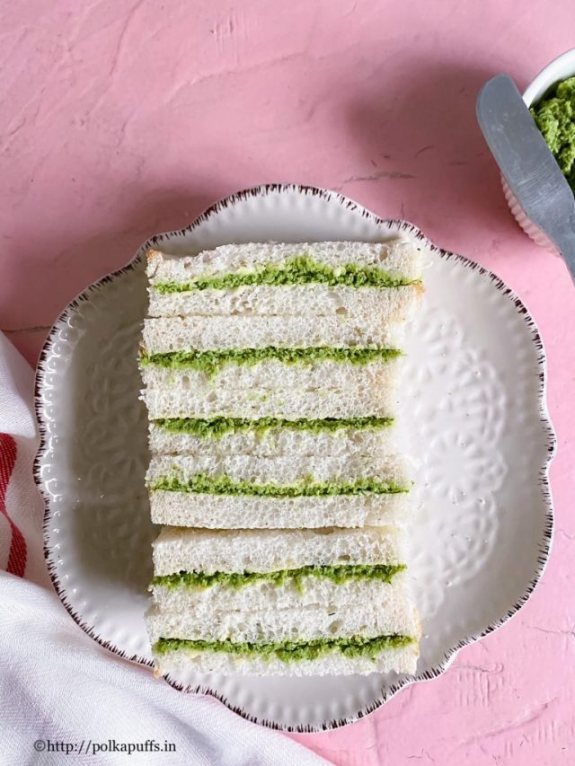 How to make Goan Chutney Sandwich   Goan Chutney Sandwich