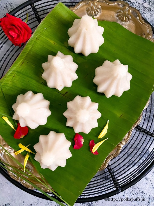 Ukadiche Modak | Traditional Steamed Modak