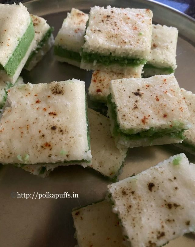Sandwich Dhokla   How to make Sandwich Dhokla