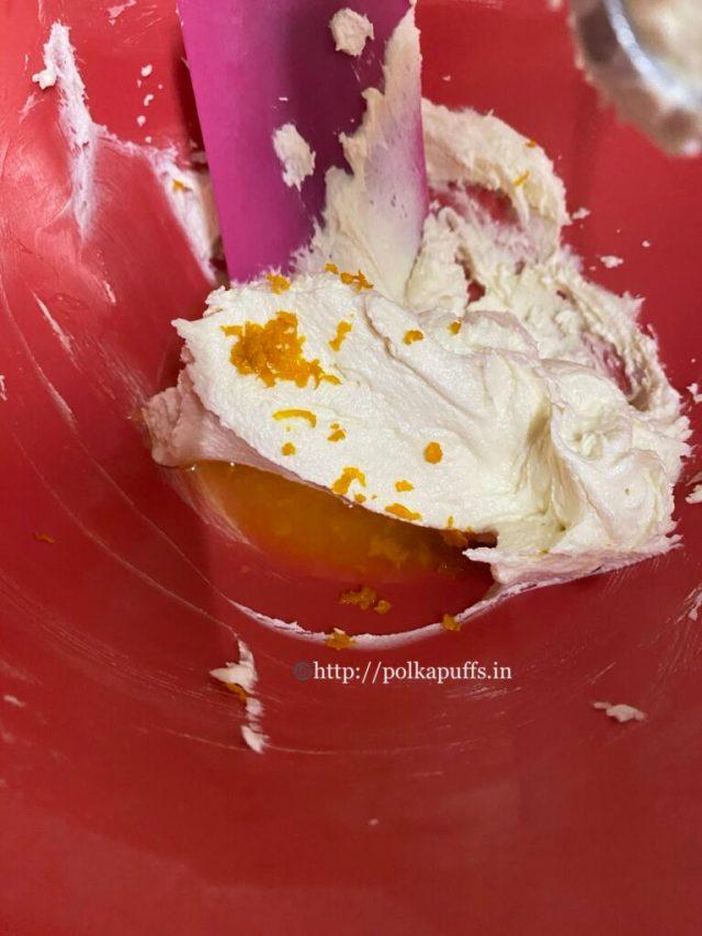 Egg-free Orange Pound Cake | Eggless Orange Cake Recipe