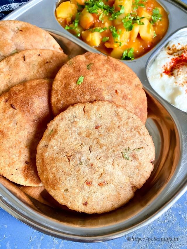 Singhare Ki Puri | Vrat ki Puri