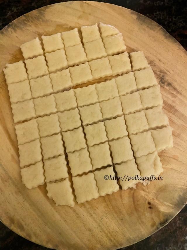 Shankarpali recipe | Sweet Shakarpara recipe