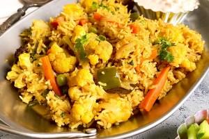 Mix Vegetable Tehri | Veg Tahiri Recipe