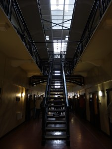 The prison was designed to hold 550 prisoners and at one point housed 4 times that amount