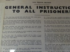 This amused me (kinda)... General Instructions To All Prisoners