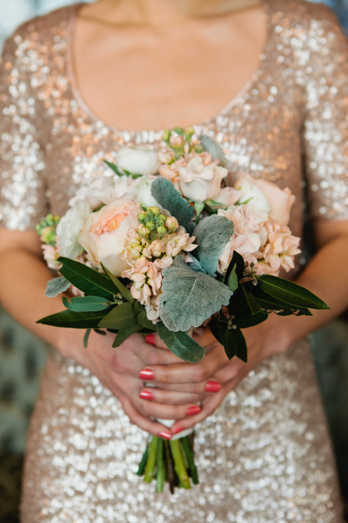 Wedding Profile Salvage One Winter Wedding In Blush And