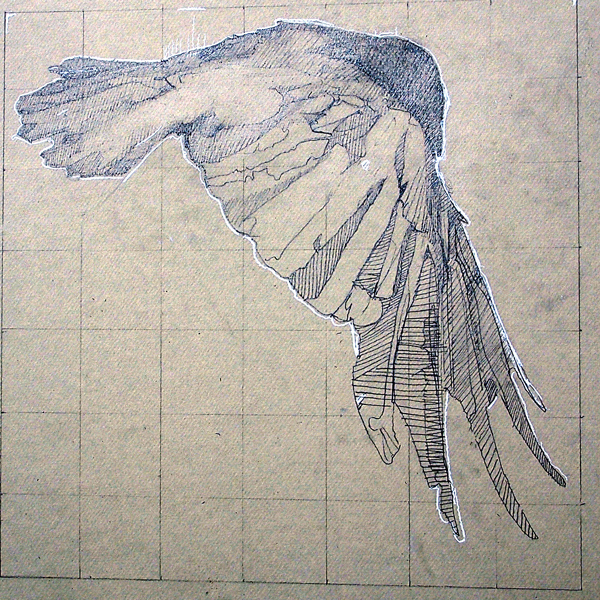 Pencil, 14 inched square