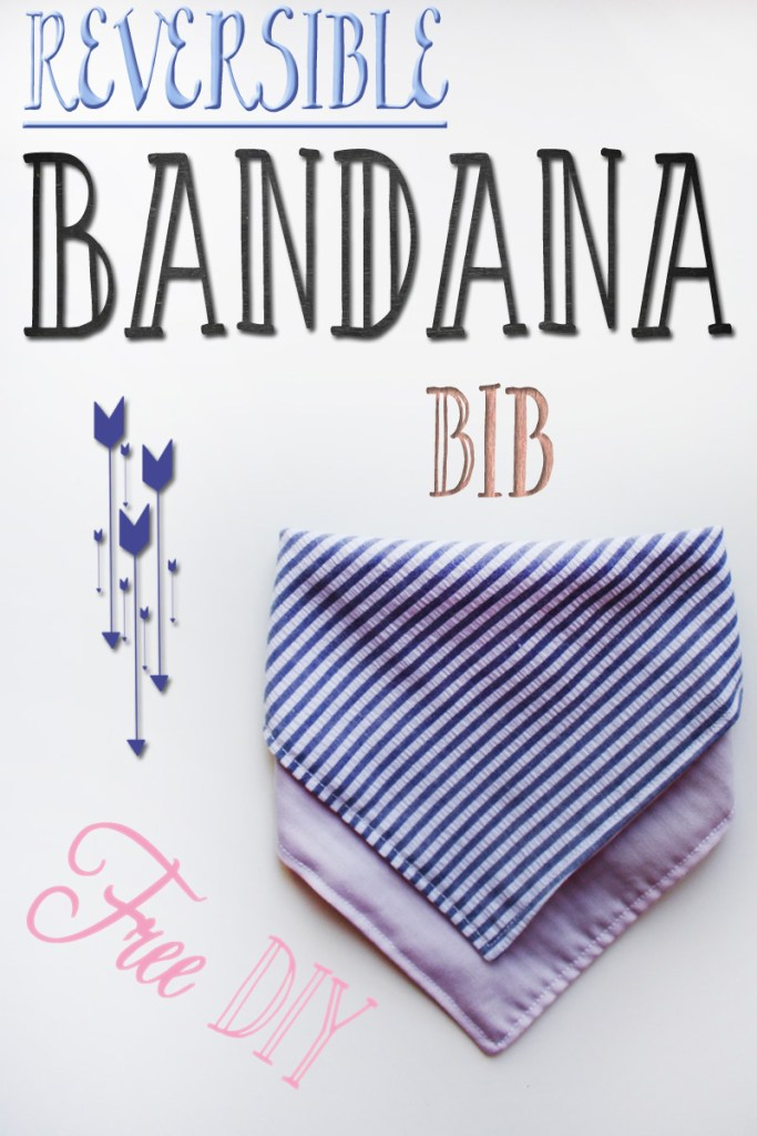 Bandana Bib Tutorial/DIY