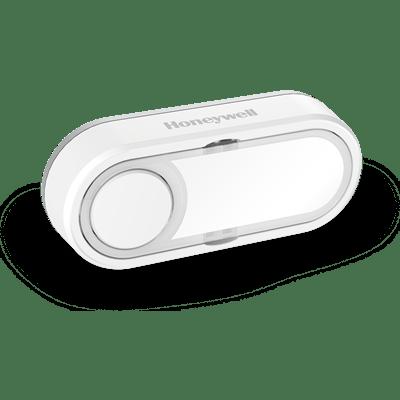 Pulsador inalámbrico con placa de identificación y LED de confianza