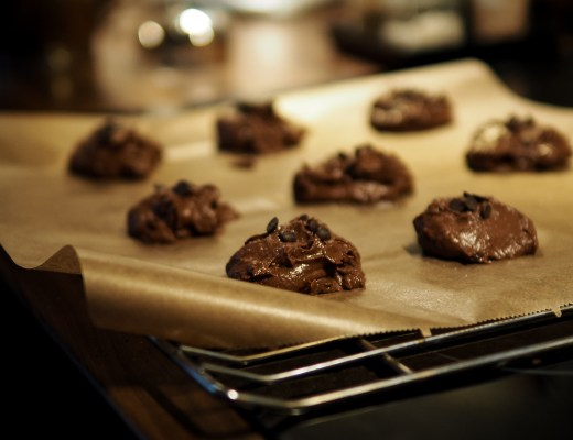 salted caramel chocolate cookies