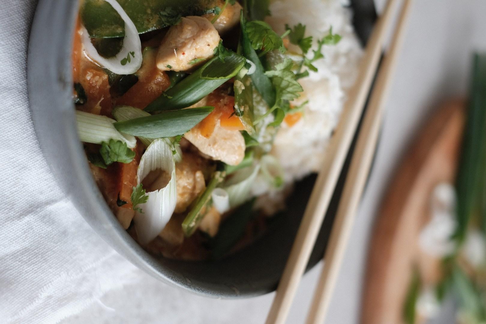 Lemongrass  Thai Chicken