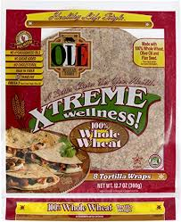 "Amazon.com: Ole Xtreme Wellness™ Whole Wheat Flour Tortilla Wraps | 8"" Size  