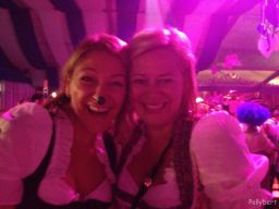first shot @pink Wiesn