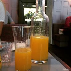 freshly squeezed juice @Das Kolin