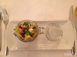 pickled summer vegetables with bocconcini