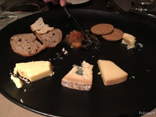 Cheese selection @Angels with Bagpipes