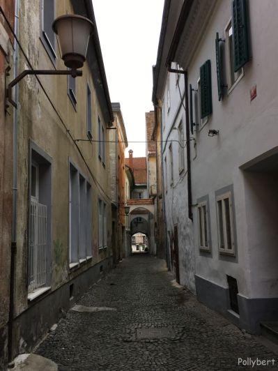 small street @Maribor, Slovenia